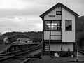 Strathspey Railway signal box by Dave Banks Photography